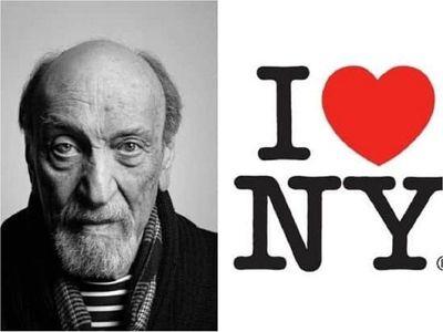 Fallece a los 91 años Milton Glaser, el creador del logo I love NY
