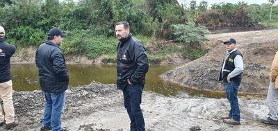 Constatan delito ambiental tras represar riacho Mosquito en el Chaco