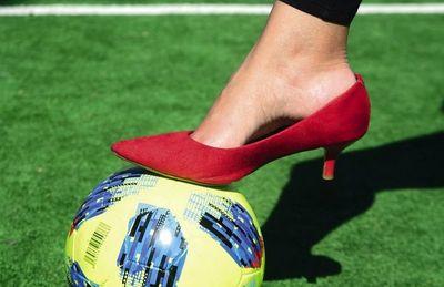 Una mujer  que nació para ser futbolista