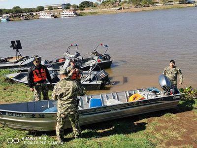 Incautan embarcación en zona fronteriza del Alto Paraguay