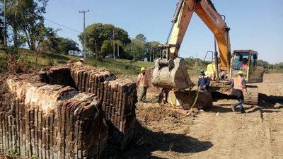 Rescatan vestigios del antiguo puerto de Pilar mediante labores para Defensa Costera