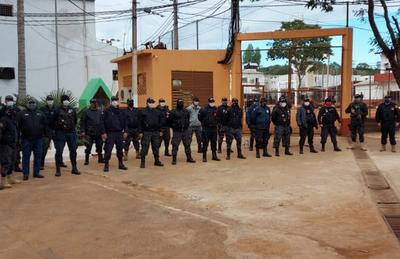 Grupo de Reacción colabora con la seguridad en la penitenciaría de Ciudad del Este