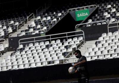 Protesta de Botafogo destaca el cuestionable regreso del fútbol en Brasil