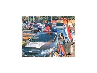 Manifestaciones también en Minga Guazú