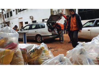 Cinco mil kits de alimentos en CDE para quienes perdieron su trabajo