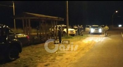 Policías se enfrentaron con supuestos narcotraficantes en zona de Pedro Juan