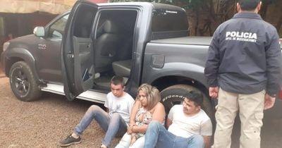 Detenidos tras persecución policial ya están procesados con pedido de prisión