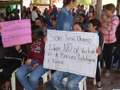 Nuevo vertedero en Yaguarón podría contaminar el lago Ypoá