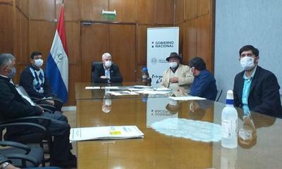 Gobernador del Caaguazú se reunió con Arnoldo Wiens – Prensa 5