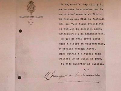 Hace cien años el Madrid obtenía el título Real