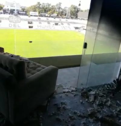 ¿Qué pasó en el destrozado palco de Para Uno?