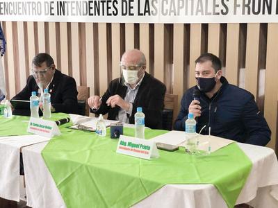 Intendentes fronterizos pedirán tratamiento especial para reactivar la economía