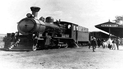 A bordo del ferrocarril paraguayo…