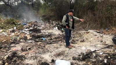 Vertedero municipal de Concepción fue intervenido por no adecuarse a las normas ambientales vigentes