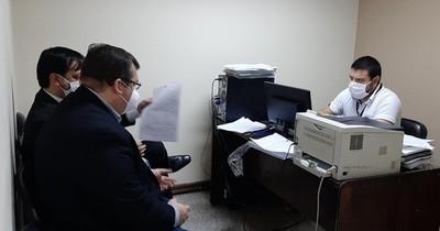 Caso Imedic SA: Aduanero se presentó ante jueza penal de garantías