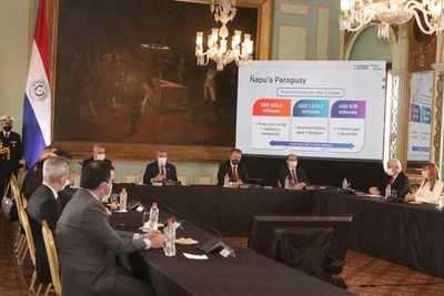 Paraguay fomentará obras públicas, empleos y contención social