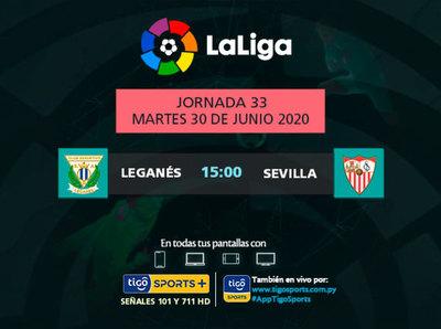 Sevilla busca seguir en puestos de Champions