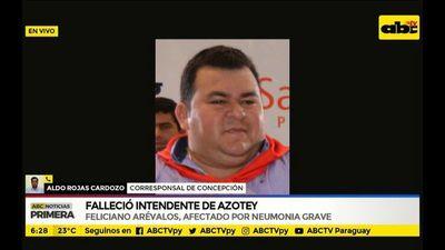 Falleció el intendente de Azote'y