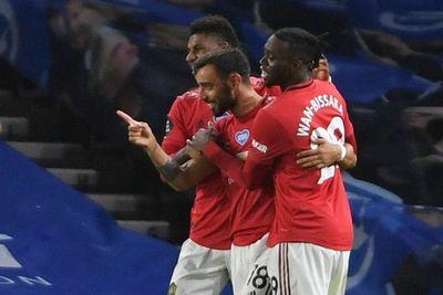 Bruno Fernandes permite al United presionar al Chelsea