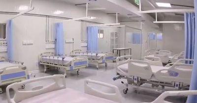 Construirán cinco hospitales más de contingencia para atender Covid-19