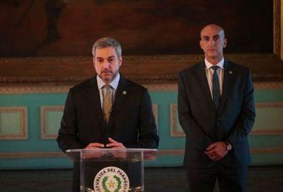 Mario Abdo presenta de forma virtual su segundo informe de gestión ante el Congreso
