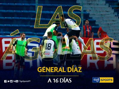 General Díaz va en busca del despegue en el regreso del fútbol