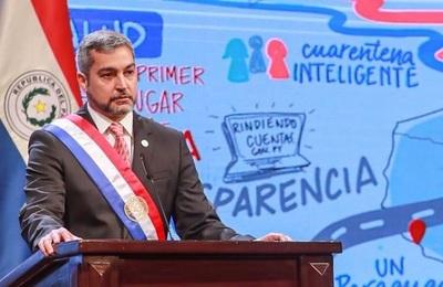 """""""Estamos construyendo un Paraguay más conectado"""", destaca Abdo Benítez"""