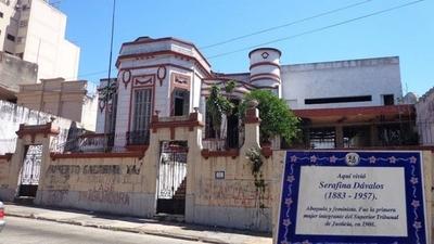 HOY / Revitalizarán antigua casa de Serafina Dávalos: Será un centro cultural