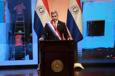 Informe Presidencial: Mario Abdo resaltó medidas contra el Covid-19
