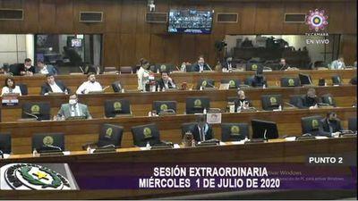 Diputados aprobó hoy interpelación al presidente de la ANDE