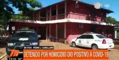 Detenido por homicidio da positivo y envía a cuarentena a 40 policías