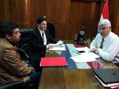 Piti se reunió con el Ministro de Obras Públicas