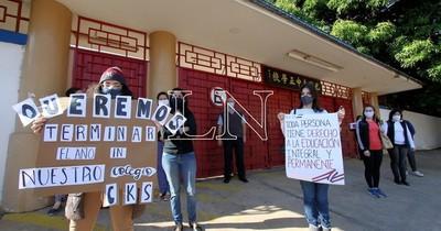 Ordenan al colegio Chiang Kai Shek seguir con clases virtuales hasta fin de año
