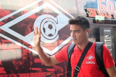 Como un ídolo, el Spartak de Moscú despide a Lorenzo Melgarejo