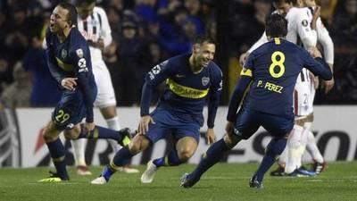 Libertad cae 2-0 ante Boca Juniors en el partido de ida de los Octavos