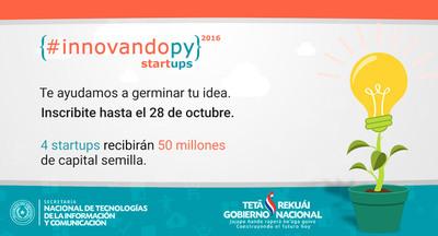#Innovandopy: Iniciativa de apoyo a emprendedores tecnológicos