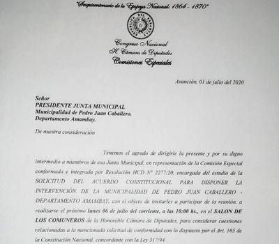José Carlos Acevedo será acusado por los concejales municipales en la Cámara de Diputados