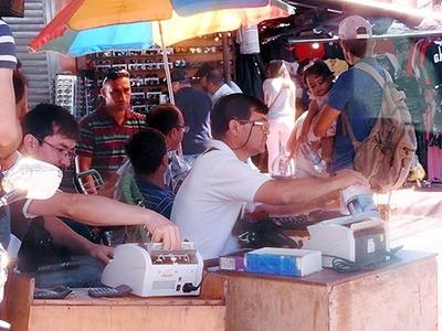 Millones de DOLARES y REALES circulan en NEGRO en la FRONTERA