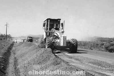 Los trabajos de rehabilitación y pavimentación asfáltica de la ruta Concepción