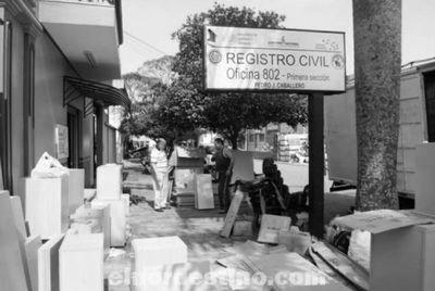 Registro del Estado Civil entrega mobiliarios a todas las oficinas registrales del departamento de Amambay