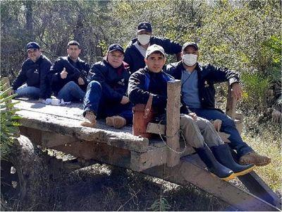 Ministerio Público constata tala selectiva de quebracho colorado en el Chaco