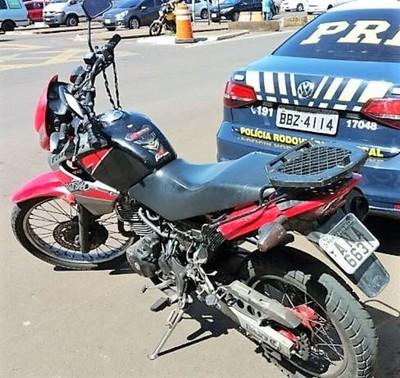 Mas una moto recuperada y un paraguayo detenido