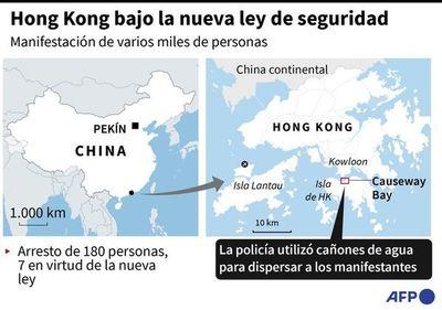 """Se inician detenciones bajo la nueva """"ley de seguridad"""" en Hong Kong"""