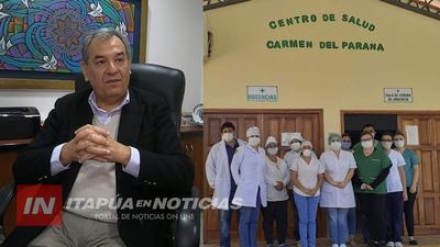 FUNCIONARIOS DE SALUD DE CARMEN DEL PNÁ Y UNA NUEVA PROMESA DE PAGO