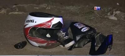 Conductor se da a la fuga tras atropellar a motociclista