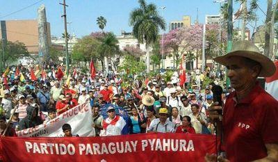 Partido Paraguay Pyahurã anuncia movilizaciones en distintos departamentos del país para este jueves