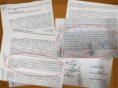 Concejales presentan excusación del Ministro de la Corte Antonio Fretes por familiaridad con el abogado del Intendente Municipal