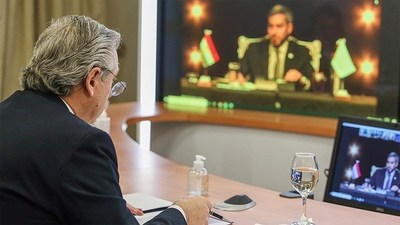 Presidente argentino llamó a la unidad del Mercosur para enfrentar la desigualdad en la pospandemia