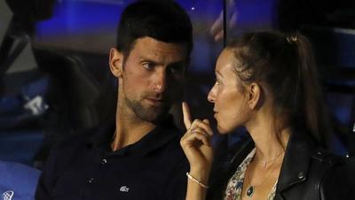 Novak Djokovic y su esposa superan al Covid-19