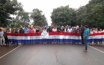 """Friedmann """"plantó"""" a manifestantes en San Pedro"""